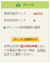 NTTコムリサーチの所持ポイント
